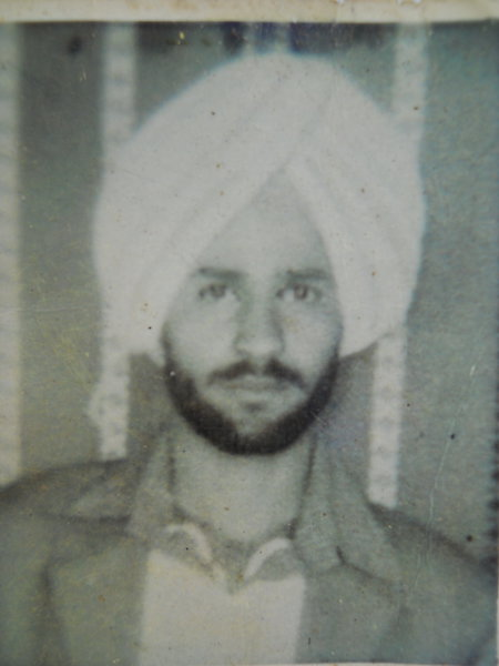 Photo of Mukhtiar Singh,  disappeared on September 05, 1989, in Kathu Nangal,  by Punjab Police