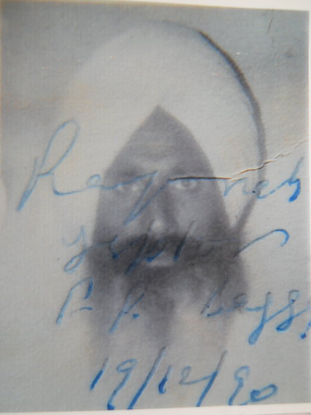 Photo of Sukhdev Singh, victim of extrajudicial execution between September 15, 1992 and September 16,  1992, in Amritsar Mal Mandi Interrogation Center, by Punjab Police