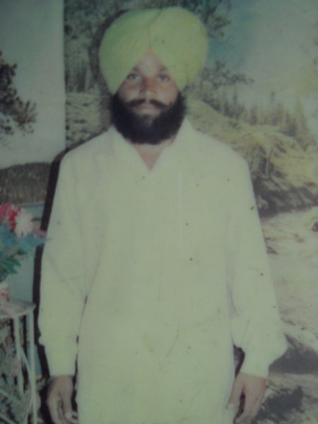 Photo of Harpreet Singh, victim of extrajudicial execution between April 1, 1993 and May 30,  1993, in Ludhiana, by Punjab Police
