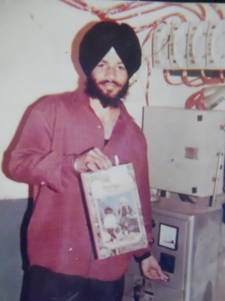 Photo of Harjinder Singh, victim of extrajudicial execution on June 08, 1993, in Beas, by Punjab Police