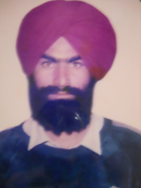 Photo of Lakha Singh,  disappeared on August 20, 1990, in Amritsar,  by Punjab Police