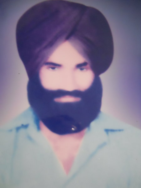 Photo of Lakhwinder Singh,  disappeared on August 07, 1989, in Amritsar, 9th Battalion CRPF Camp,  by Punjab Police; Central Reserve Police Force