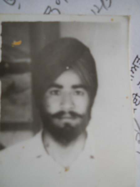 Photo of Harwinder Singh,  disappeared on July 26, 1986 by Punjab Police