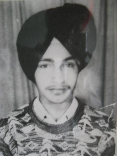 Photo of Gurinder Singh, victim of extrajudicial execution on August 08, 1991, in Sarai Amanat Khan, Chheharta Sahib,  by Punjab Police; Army, in Chheharta Sahib, by Punjab Police