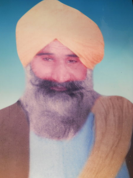 Photo of Charan Singh, victim of extrajudicial execution on June 07, 1984Central Reserve Police Force
