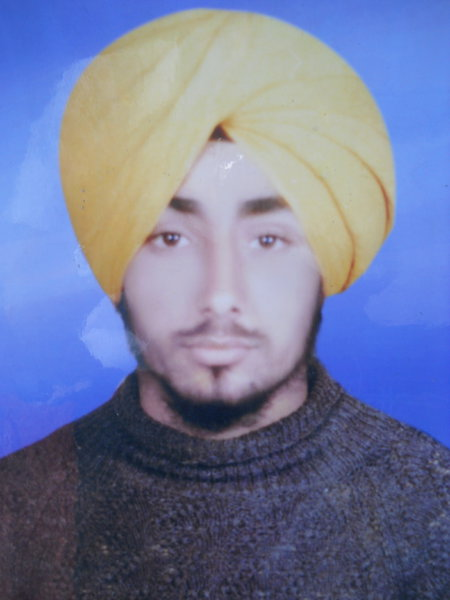Photo of Gurbrinder Singh, victim of extrajudicial execution between March 10, 1987 and March 11,  1987, in Batala, by Punjab Police
