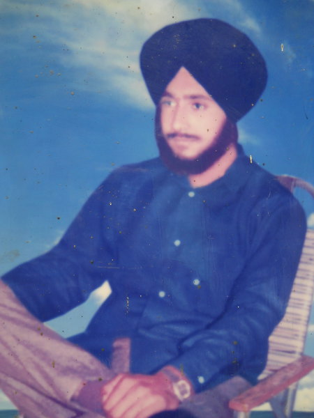 Photo of Avtar Singh, victim of extrajudicial execution between February 1, 1991 and February 28,  1991, in Bathinda, by Punjab Police