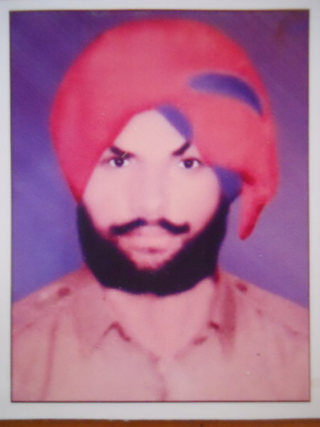 Photo of Sukhwinder Singh,  disappeared on April 18, 1993, in Beas,  by Punjab Police