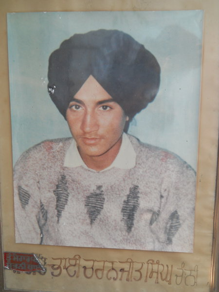 Photo of Charnjit Singh, victim of extrajudicial execution on May 26, 1991Punjab Police; Army
