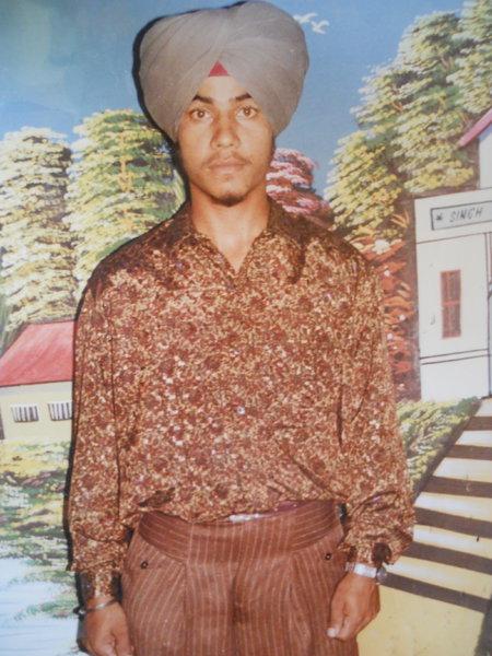 Photo of Tarlok Singh, victim of extrajudicial execution on November 07, 1992, in Sabhrai, by Punjab Police