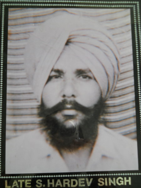 Photo of Hardev Singh,  disappeared, date unknown by Punjab Police