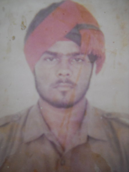 Photo of Baljit Singh, victim of extrajudicial execution on August 03, 1992, in Jhabal Kalan, by Punjab Police