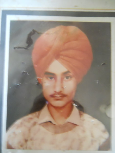 Photo of Parmjit Singh, victim of extrajudicial execution between October 21, 1990 and October 22,  1990, in Tarn Taran,  by Punjab Police; Central Reserve Police Force, in Tarn Taran, by Punjab Police; Central Reserve Police Force