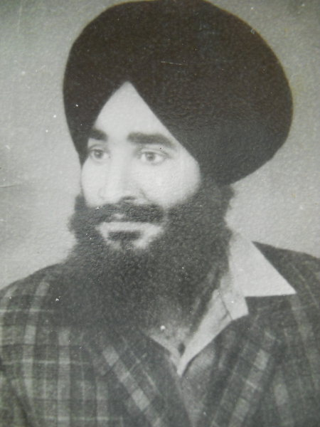 Photo of Sukhdev Singh, victim of extrajudicial execution between June 1, 1987 and July 31,  1987, in Beas, by Punjab Police