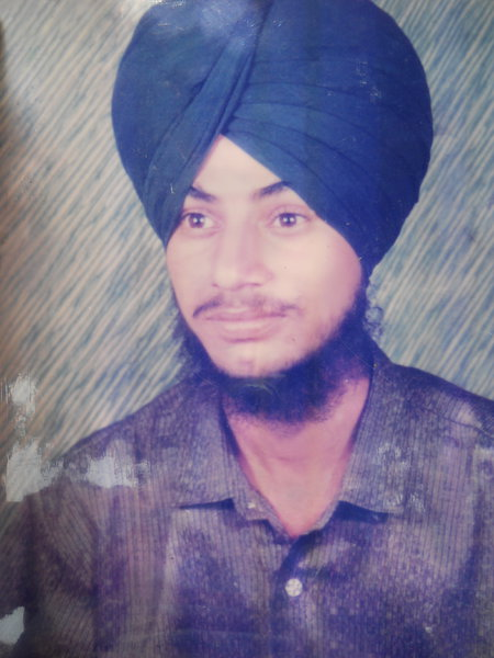 Photo of Gurdev Singh, victim of extrajudicial execution on May 4, 1992, in Jandiala, by Punjab Police