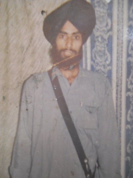 Photo of Bhagwant Singh, victim of extrajudicial execution on October 22, 1990, in Tarn Taran, by Punjab Police