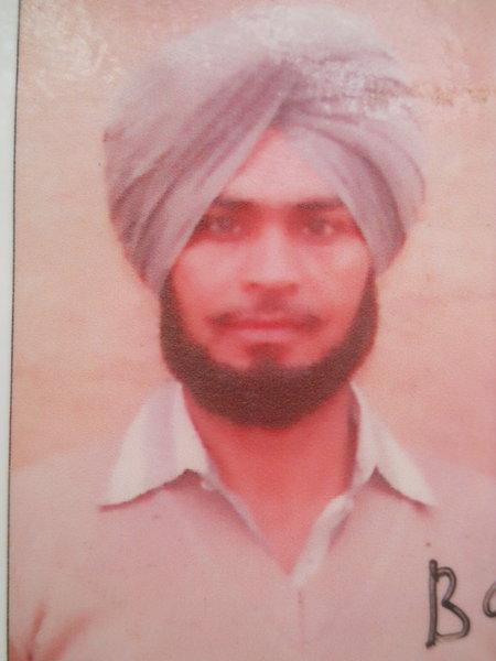Photo of Balbir Singh, victim of extrajudicial execution between December 1, 1992 and December 31,  1992, in Tarn Taran, by Punjab Police