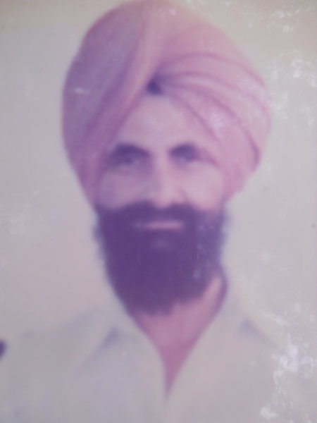 Photo of Baldev Singh, victim of extrajudicial execution on July 15, 1990, in Harike,  by Punjab Police; Central Reserve Police Force, in Harike, by Punjab Police; Central Reserve Police Force