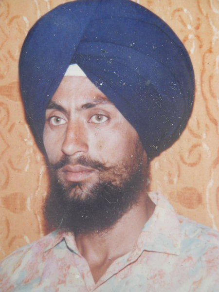 Photo of Sarwan Singh, victim of extrajudicial execution on June 05, 1992, in Kairon,  by Punjab Police; Central Reserve Police Force, in Kairon, by Punjab Police