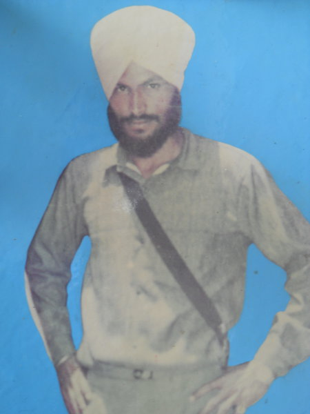 Photo of Dilbag Singh, victim of extrajudicial execution on February 08, 1993, in Tarn Taran, by Punjab Police