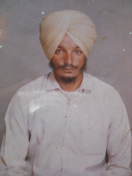 Photo of Joginder Singh Sabba, victim of extrajudicial execution between November 17, 1993 and May 31,  1994Unknown type of security forces