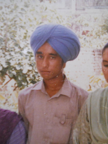 Photo of Manjinder Singh, victim of extrajudicial execution between June 14, 1990 and June 25,  1990, in Phagwara,  by Punjab Police; Central Reserve Police Force, in Phagwara, by Punjab Police