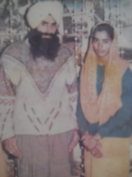 Photo of Harpal Kaur, victim of extrajudicial execution on July 10, 1993, in Jandiala, by Punjab Police; Central Reserve Police Force