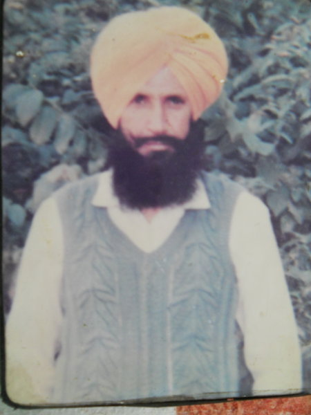 Photo of Sawinder Singh, victim of extrajudicial execution on April 03, 1991, in Baba Bakala, Beas,  by Punjab Police; Central Reserve Police Force, in Baba Bakala, Beas, by Punjab Police; Central Reserve Police Force