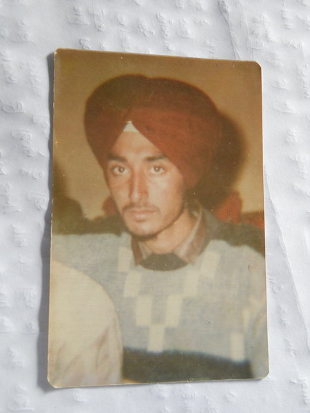Photo of Prem Singh, victim of extrajudicial execution on June 16, 1991, in Beas, by Punjab Police