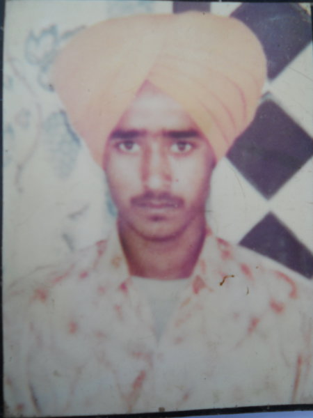 Photo of Jaswant Singh, victim of extrajudicial execution between April 10, 1993 and May 20,  1993, in Dhilwan, Kapurthala, by Punjab Police
