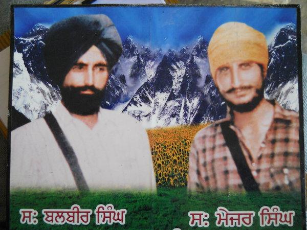 Photo of Balbir Singh, victim of extrajudicial execution on October 27, 1987, in Ajnala,  by Punjab Police; Central Reserve Police Force, in Ajnala, by Punjab Police