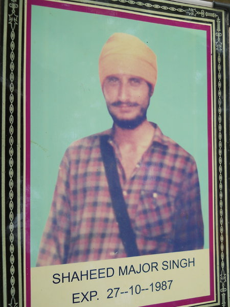 Photo of Major Singh, victim of extrajudicial execution on October 27, 1987, in Ajnala,  by Punjab Police; Central Reserve Police Force; Army, in Ajnala, by Punjab Police