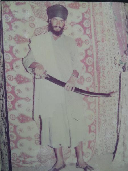 Photo of Satnaam Singh, victim of extrajudicial execution between May 14, 1992 and July 15,  1993, in Tarn Taran, by Punjab Police