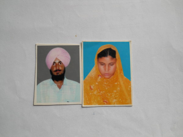 Photo of Major Singh, victim of extrajudicial execution on March 31, 1991, in New Delhi,  by Punjab Police; Central Reserve Police Force, in New Delhi, by Punjab Police; Central Reserve Police Force