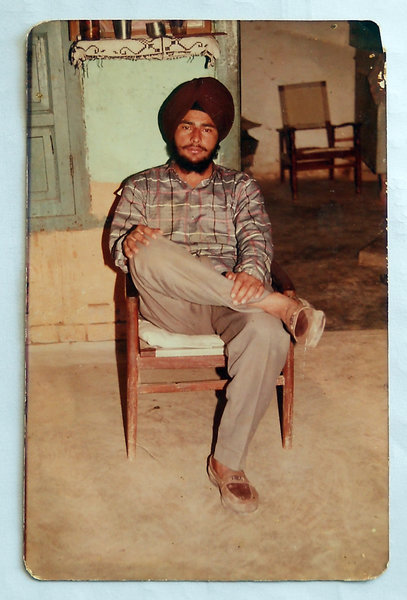 Photo of Palwinder Singh, victim of extrajudicial execution on June 07, 1991, in Rupnagar, by Punjab Police
