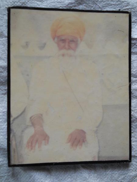 Photo of Sardool Singh, victim of extrajudicial execution on July 24, 1991, in Bhikhiwind, by Punjab Police