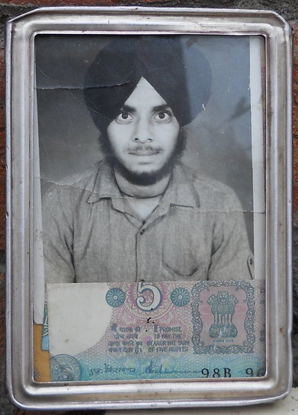Photo of Baljit Singh, victim of extrajudicial execution between January 1, 1993 and January 31,  1993 by Unknown type of security forcesUnknown type of security forces