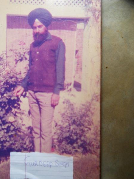 Photo of Gurdeep Singh, victim of extrajudicial execution on July 14, 1991, in Garhshankar, by Punjab Police
