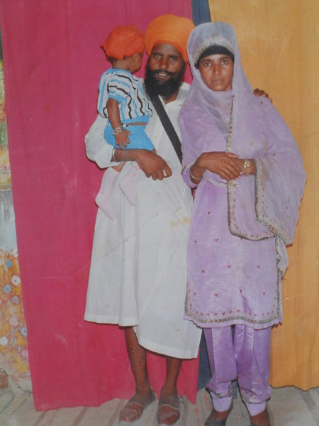 Photo of Jagir Singh, victim of extrajudicial execution between July 1, 1989 and August 30,  1989, in Batala, by Punjab Police