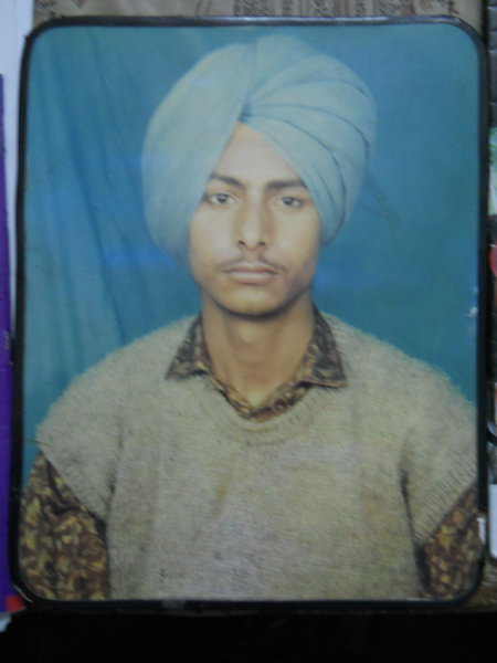 Photo of Surjeet Singh, victim of extrajudicial execution on March 16, 1992, in Majitha, by Punjab Police