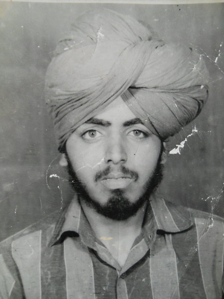 Photo of Joginder Singh,  disappeared on September 25, 1993, in Amritsar CIA Staff,  by Criminal Investigation Agency