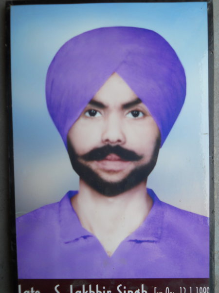Photo of Lakhbir Singh, victim of extrajudicial execution on January 01, 1989, in Wan 45th Battalion BSF Post,  by Border Security Force, in Wan 45th Battalion BSF Post, by Border Security Force