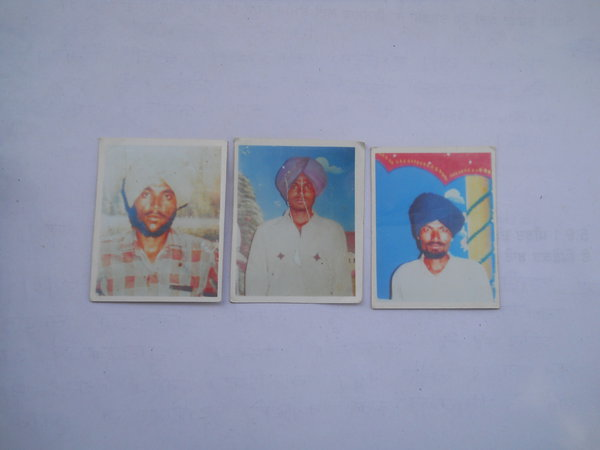 Photo of Anwar Singh, victim of extrajudicial execution between January 1, 1991 and January 3,  1992, in Bhikhiwind, by Punjab Police; Central Reserve Police Force