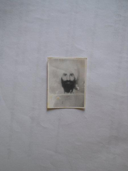 Photo of Balvir Singh, victim of extrajudicial execution on October 29, 1989, in Algon Kothi, by Punjab Police
