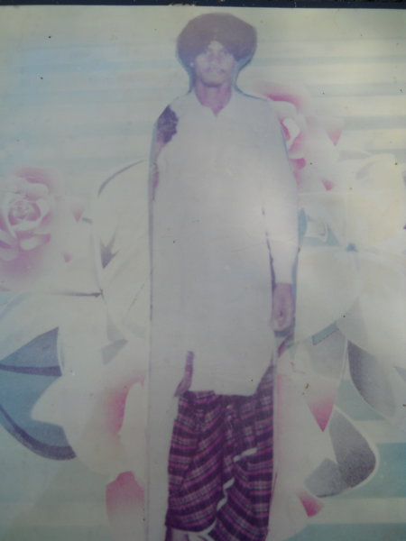 Photo of Balwinder Singh, victim of extrajudicial execution on July 14, 1992 by Unknown type of security forces, in Bhikhiwind, by Punjab Police