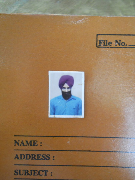 Photo of Harjinder Singh, victim of extrajudicial execution on May 8, 1989