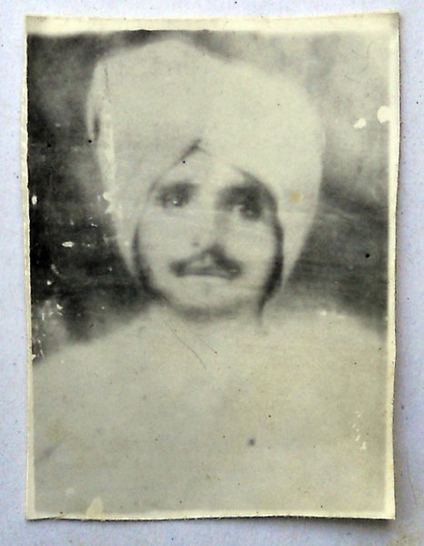 Photo of Kartar Singh, victim of extrajudicial execution between January 1, 1984 and December 31,  1984Unknown type of security forces