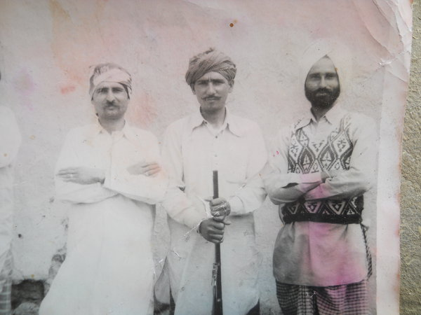 Photo of Ruldu Deen, victim of extrajudicial execution on January 13, 1990, in Harike, by Punjab Police