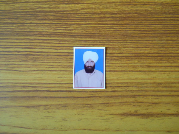 Photo of Gurmej Singh Angrej,  disappeared between March 1, 1988 and March 31,  1988 by Central Reserve Police Force