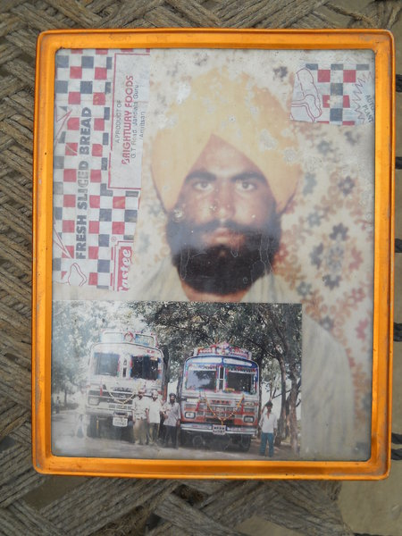 Photo of Gursahib Singh, victim of extrajudicial execution on October 8, 1990, in Patti, by Punjab Police
